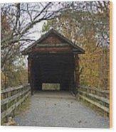 Humpback Bridge Opening Wood Print