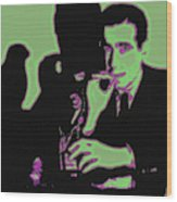 Humphrey Bogart And The Maltese Falcon 20130323 Square Wood Print