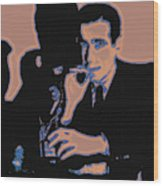 Humphrey Bogart And The Maltese Falcon 20130323m88 Wood Print by Wingsdomain Art and Photography