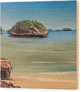 Hundred Islands In Philippines Wood Print