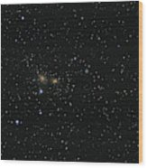 Hundreds Of Galaxies In The Coma Wood Print
