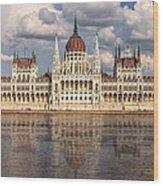 Hungarian Parliament Budapest Wood Print