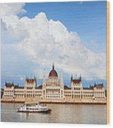Hungarian Parliament Building Wood Print