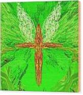 Hunger Cross 7 Wood Print