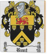 Hunt Coat Of Arms Cork Ireland Wood Print