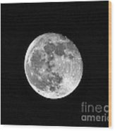Hunters Moon Wood Print