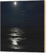Hunter's Moon II Wood Print