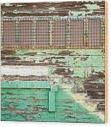 Hunters Point Building Wood Print