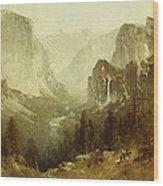 Hunting In Yosemite Wood Print
