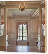 Huntington Art Gallery Interior. Wood Print