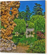 Huntington Gardens Ca Wood Print