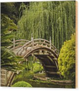 Huntington Japanese Garden No 3 Wood Print