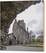 Huntly Castle - 6 Wood Print