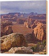 Hunts Mesa Arizona Wood Print
