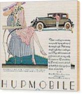 Hupmobile 1927 1920s Usa Cc Cars Wood Print