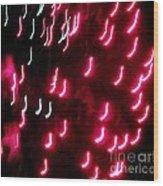 Huron Fireworks 8 Wood Print by Jackie Bodnar