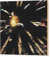 Huron Ohio Fireworks 10 Wood Print