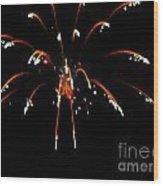 Huron Ohio Fireworks 11 Wood Print