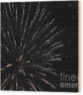 Huron Ohio Fireworks 14 Wood Print by Jackie Bodnar