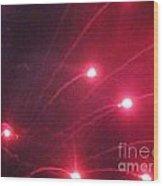 Huron Ohio Fireworks 7 Wood Print