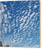 Huron Sky 4 Wood Print