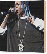 Hurricane Chris Wood Print