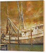 Hurricane Eve Wood Print