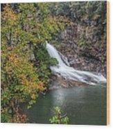 Hurricane Falls Wood Print