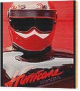 Hurricane Honda Wood Print
