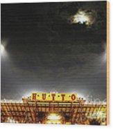 Hutto Hippo Stadium Wood Print