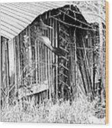 Hwy 61 La Shed Wood Print