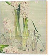Hyacinth Arrangement Wood Print
