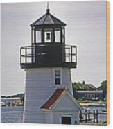 Hyannis Harbor Replica Wood Print