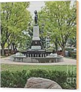Hyde Park Cincinnati 0056 Wood Print
