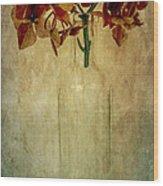 Hydrangea Wood Print by Elena Nosyreva