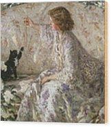 Hydrangeas, 1901 Wood Print