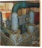 Hydro Power Wood Print