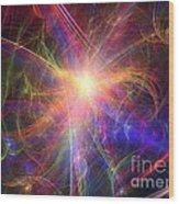 Hypervelocity Star Wood Print