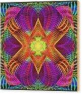 Hypnotic Expression Wood Print