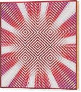 Hypnotic Vision Wood Print