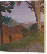 I 64 Overlook In Virginia Wood Print