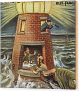 I Always Was A Jonah Wood Print