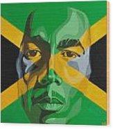 I am Jamaica Wood Print