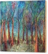 I Arose Morning  Wood Print