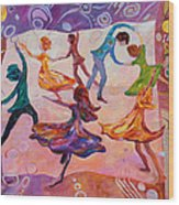 I Could Have Danced All Night Wood Print