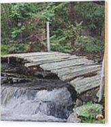 I Dare You Bridge Wood Print