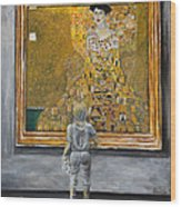 I Dream Of Klimt Wood Print