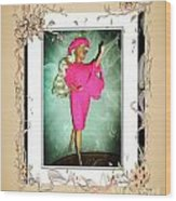 I Had A Great Time - Fashion Doll - Girls - Collection Wood Print