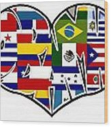 I Love Immigration Reform Wood Print by Alexis Heath