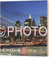 I Love New York -  Limited Edition Wood Print